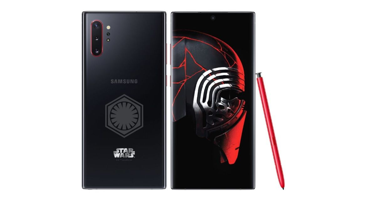 Samsung Galaxy Note 10+ Star Wars Special Edition launched