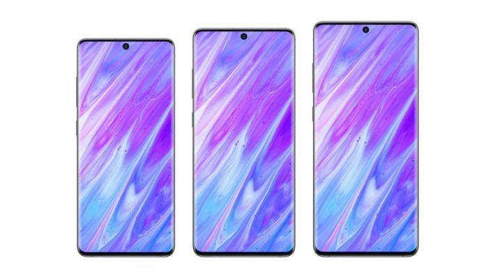 Samsung Galaxy S11 series early renders by Benjanim Geskin-