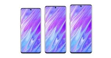 Samsung Galaxy S11 series early renders by Benjanim Geskin