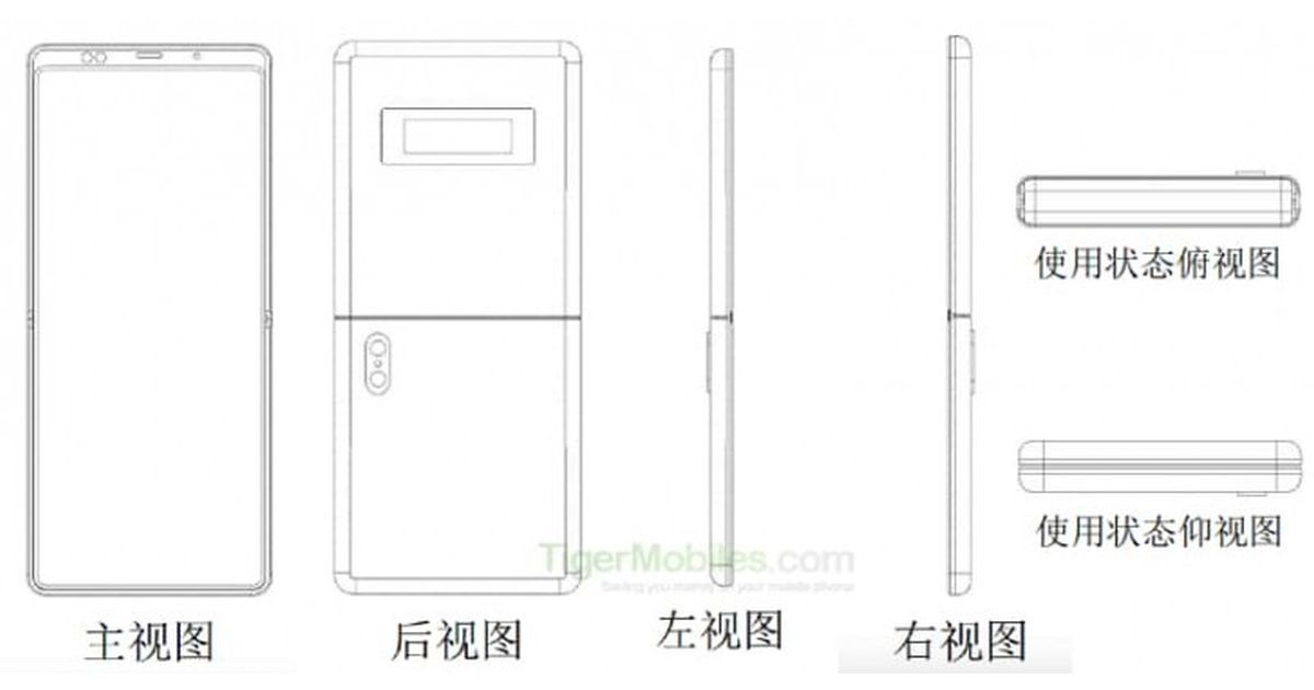 Xiaomi patents Motorola Razr-like clamshell foldable phone