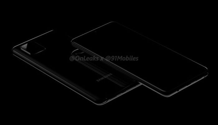 Samsung Galaxy Note 10 Lite (Galaxy A81) renders