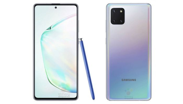Galaxy Note 10 Lite Prism Silver