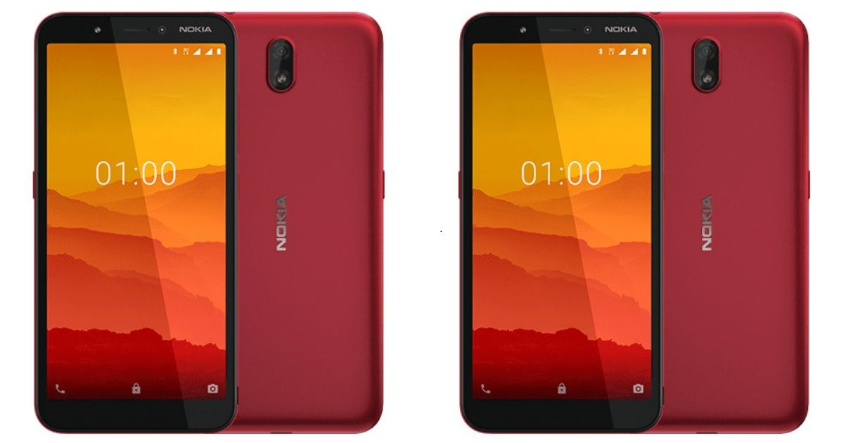 Nokia C1 Android Go phone with 3G connectivity goes official