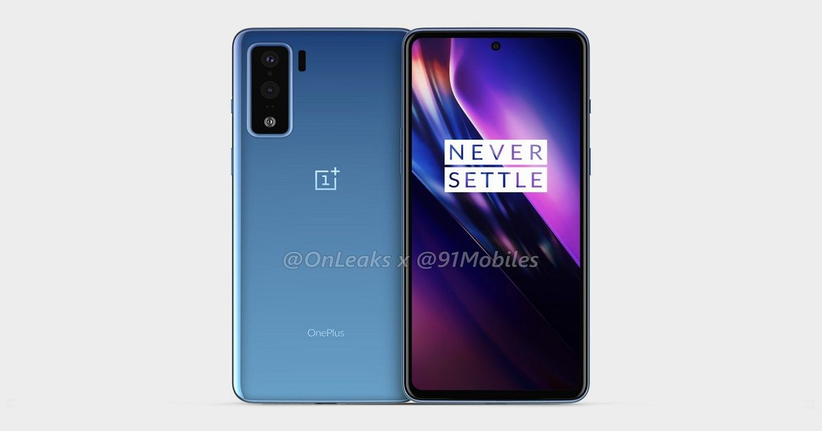 OnePlus 8 Lite leaked renders show off dual rear cameras and punch-hole display