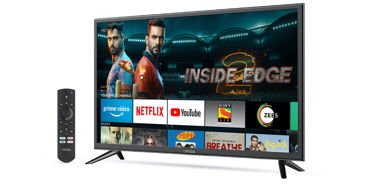 Amazon partners with Onida to launch Fire TV Edition smart TVs in India