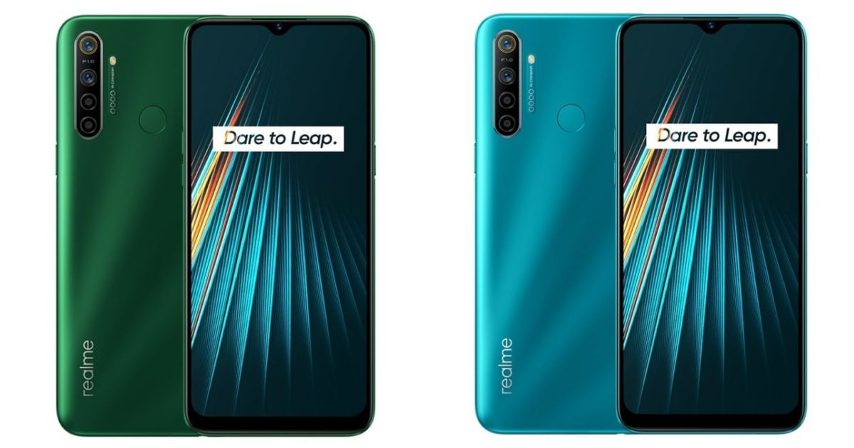 Realme 5i color editions