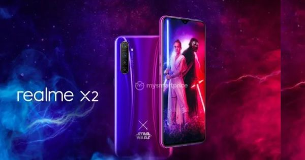 Realme X2 Star Wars Edition reportedly launching soon