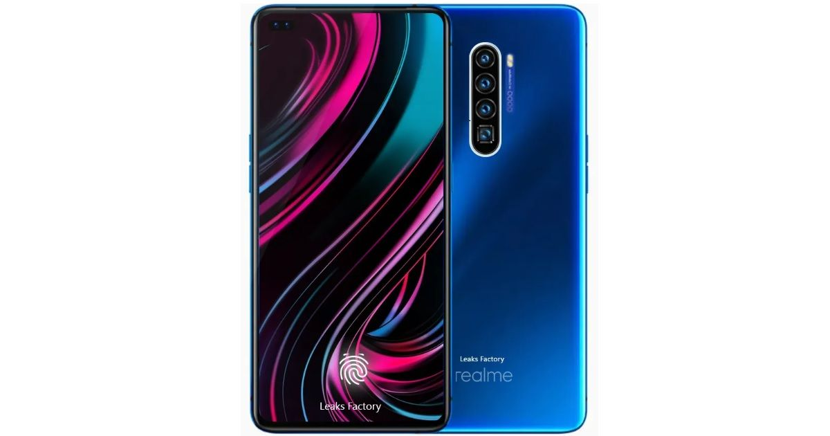 Realme X50 5G renders leaked, Snapdragon 865 SoC and dual selfie cameras officially confirmed