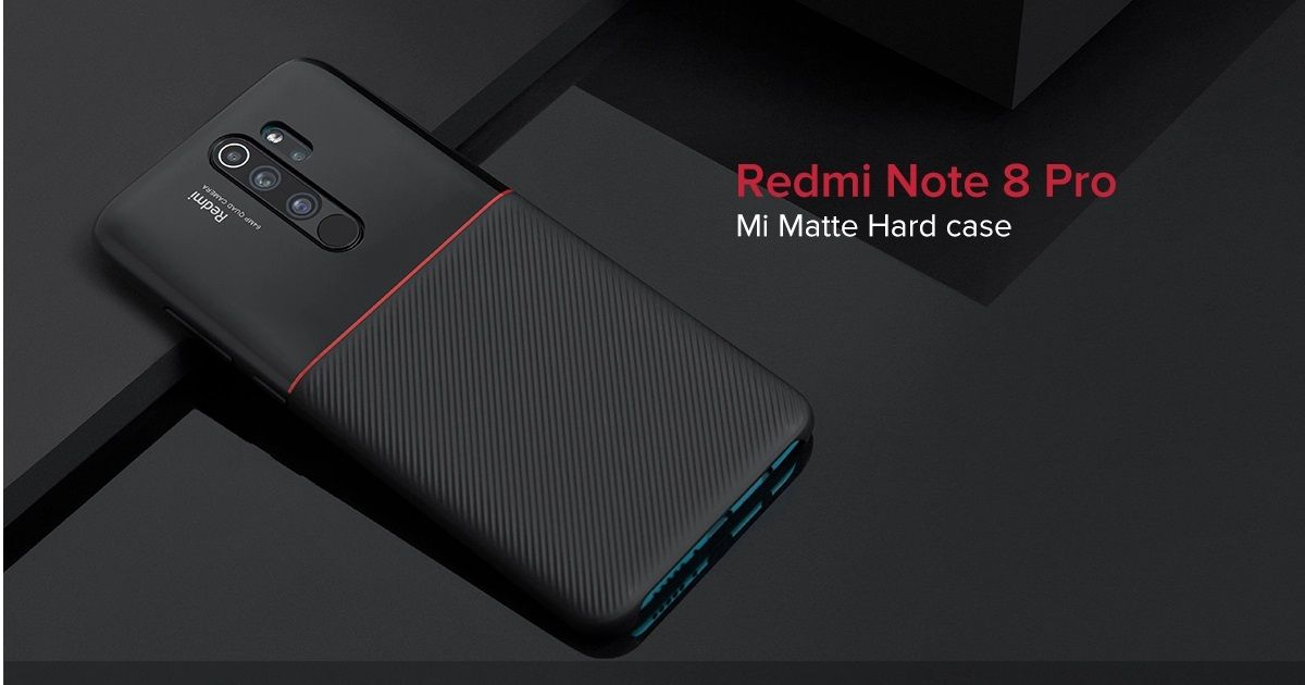 Redmi Note 8 Pro Mi Matte Hard Case_featured