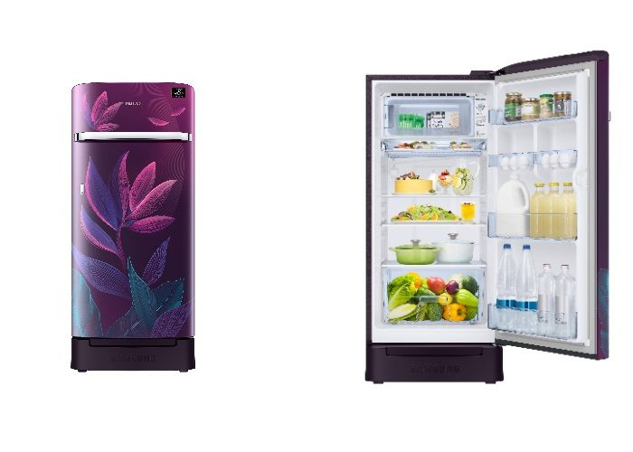 Samsung 5-Star Direct Cool Single Door Refrigerator lineup