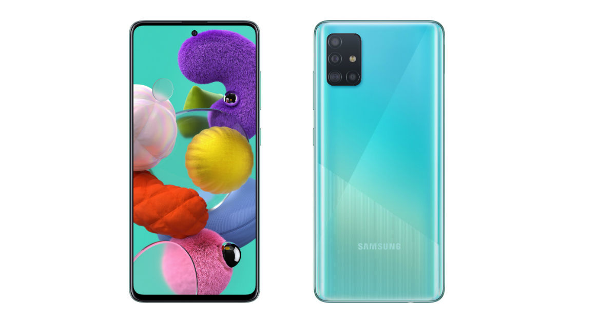 Samsung Galaxy A51 and Galaxy A71 with punch-hole design and in-display fingerprint sensors launched