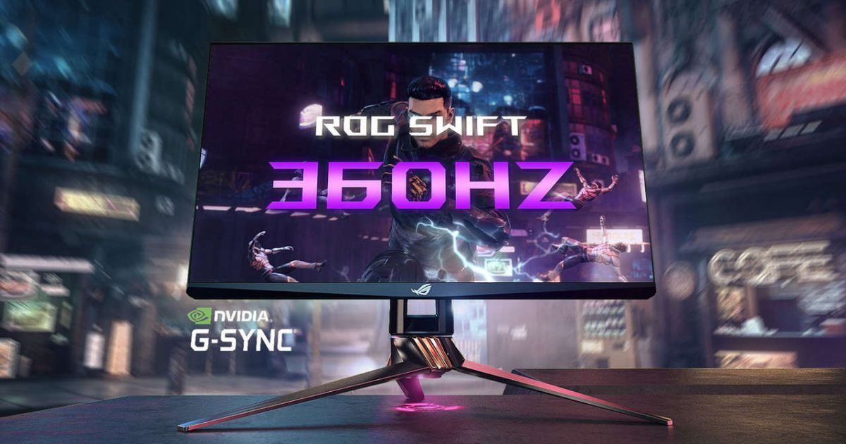 ASUS ROG Swift 360hz Monitor