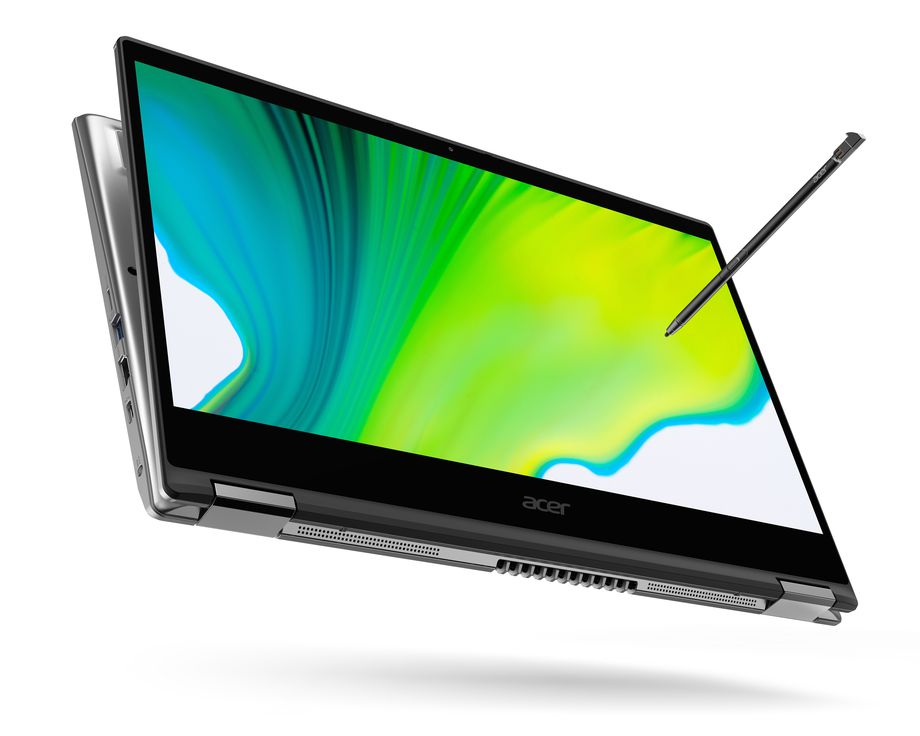 The Acer Spin 3 comes with an integrated slot for Acer Active Stylus