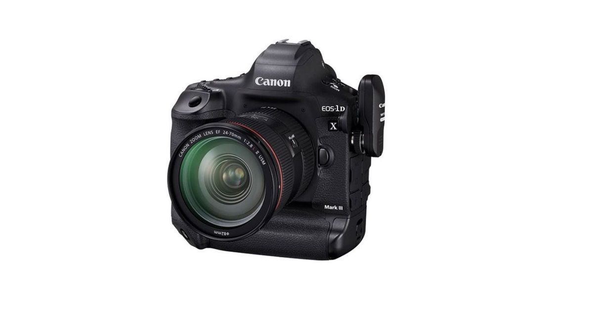 Canon EOS-1D X Mark III launched in India