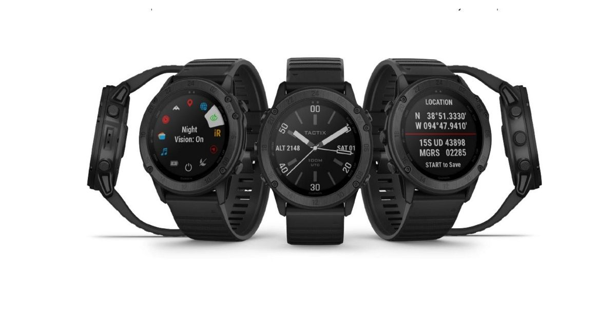 Garmin Tactix Delta smartwatch with stealth mode and a built-in kill switch announced
