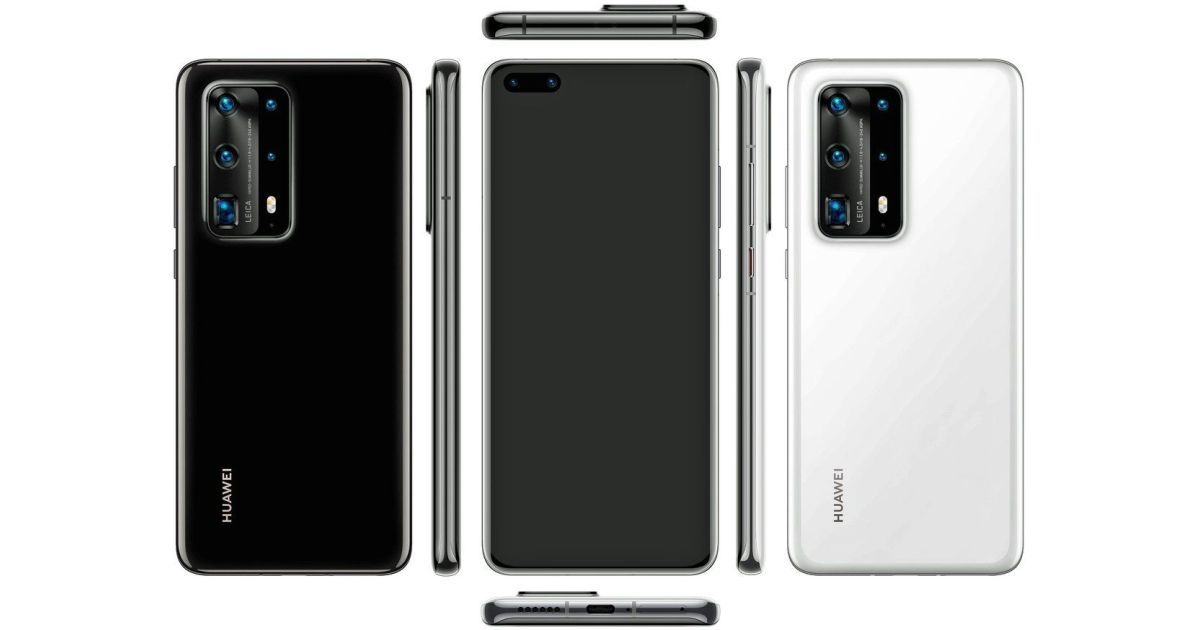 Huawei P40 Pro PE renders reveal penta cameras and ceramic body