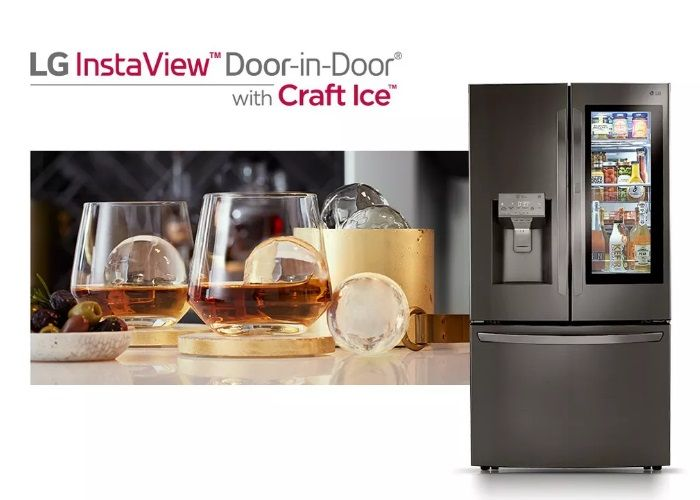 LG Insta-View Door-in-Door Smart Refrigerator