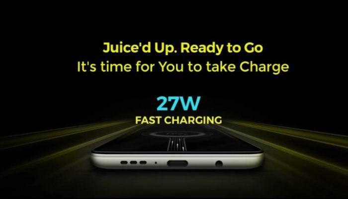 POCO X2 27W charging