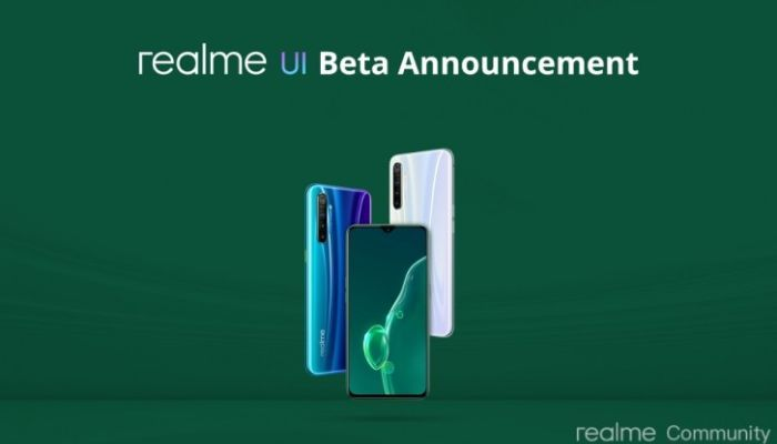 Realme UI beta announcement for Realme X2