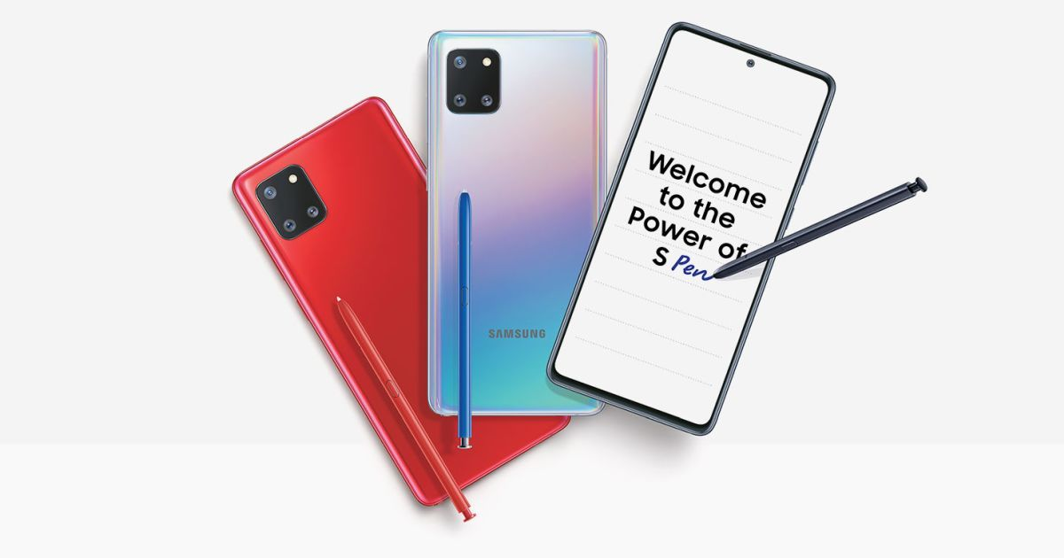 Samsung Galaxy Note 10 Lite launched in India, prices start at Rs 38,999