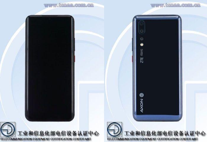 ZTE Axon 10s Pro 5G leaked on TENAA