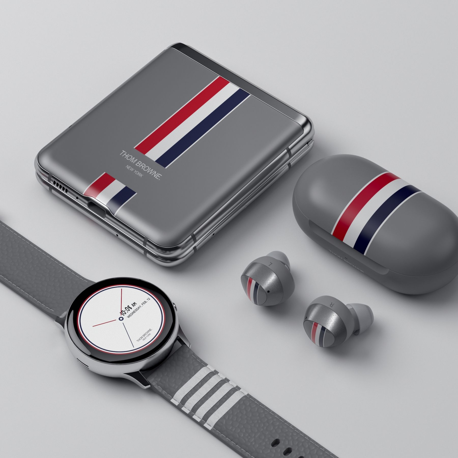 Samsung Announces The Galaxy Z Flip Thom Browne Edition Here Are All The Official Images Pricebaba Com Daily