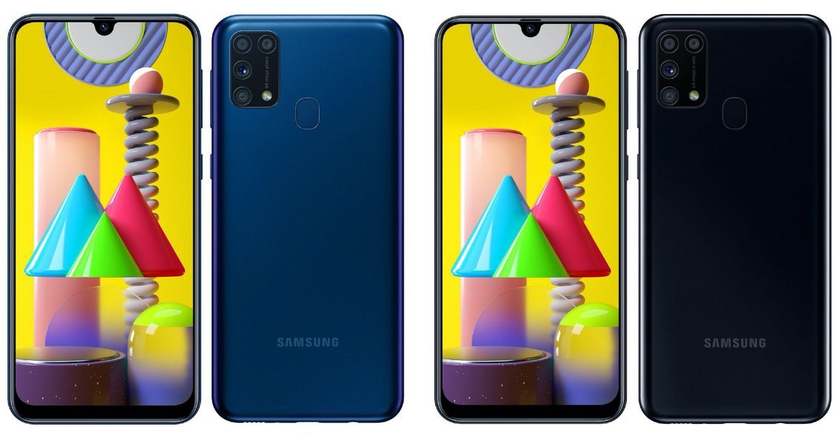 Samsung Galaxy M31 with 64MP quad cameras and 6,000mAh battery launched; Price and specifications