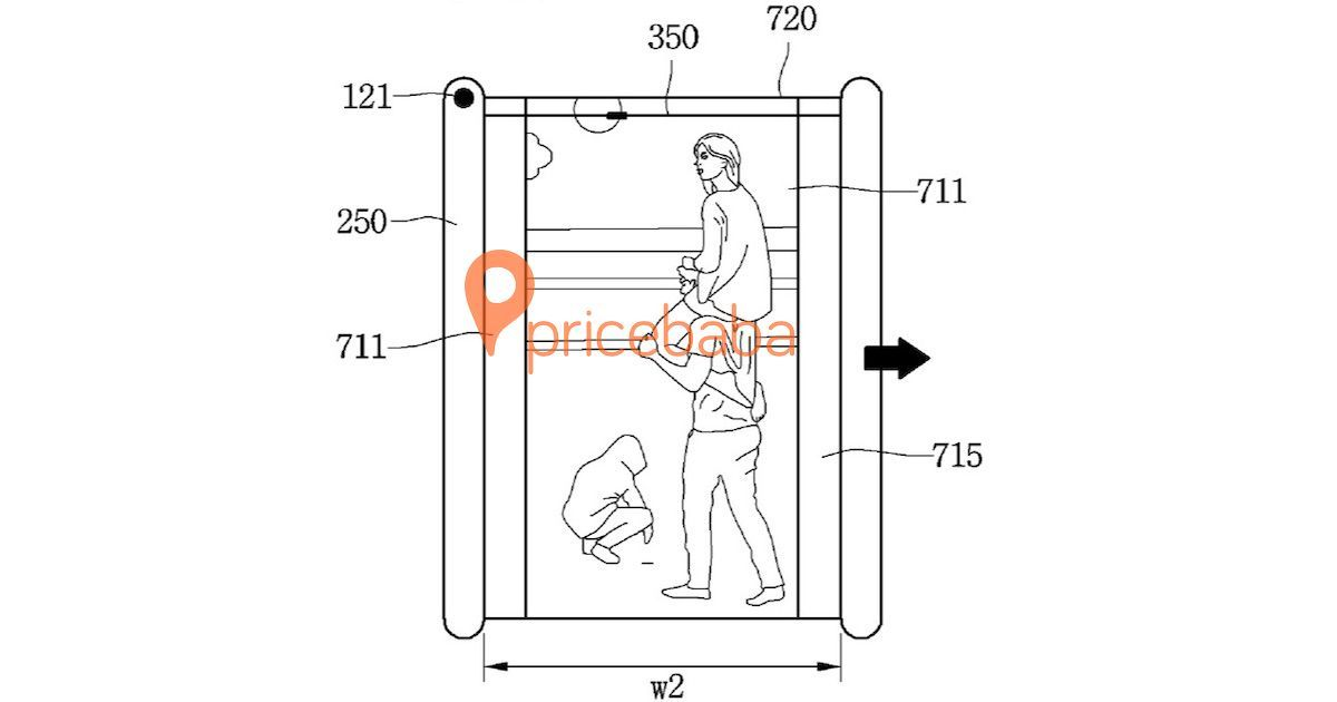 LG patents smartphone with display that rolls up like a scroll