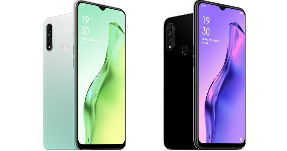 OPPO A31 with 6.5-inch display and triple rear cameras goes official