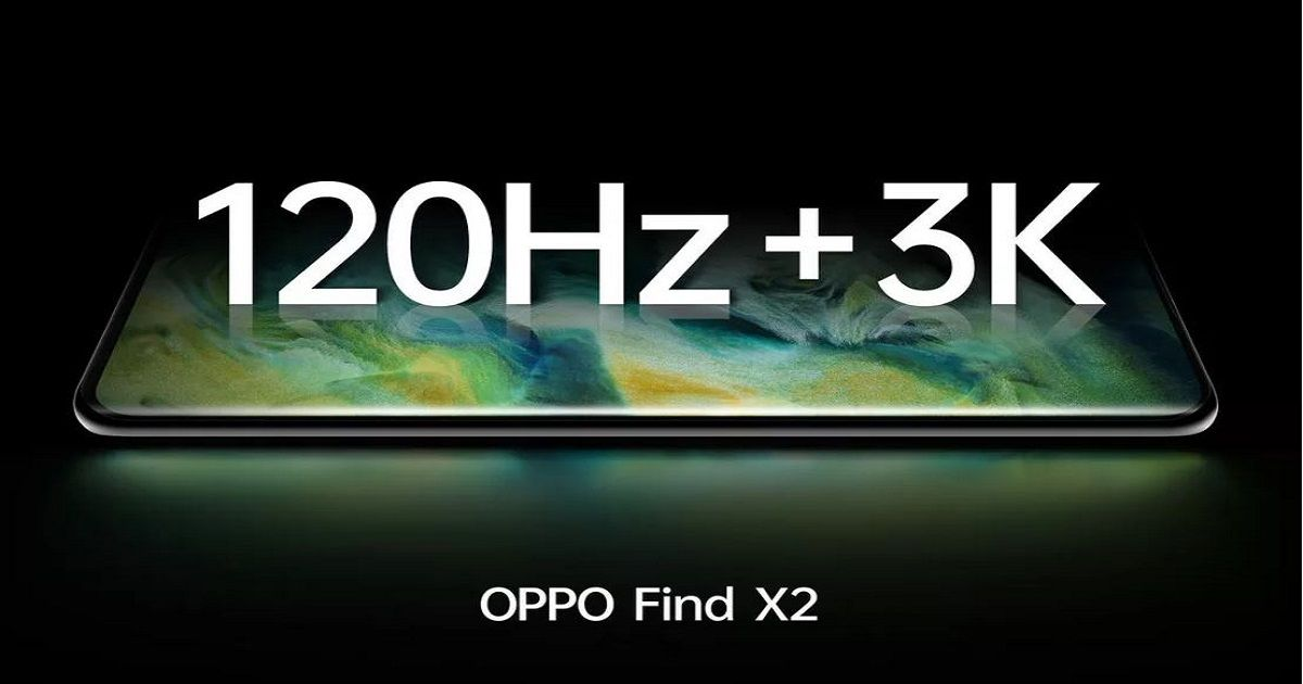 OPPO Find X2 series launching on March 6th, to feature 120Hz display with 3K resolution