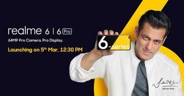Realme 6 March 5 launch