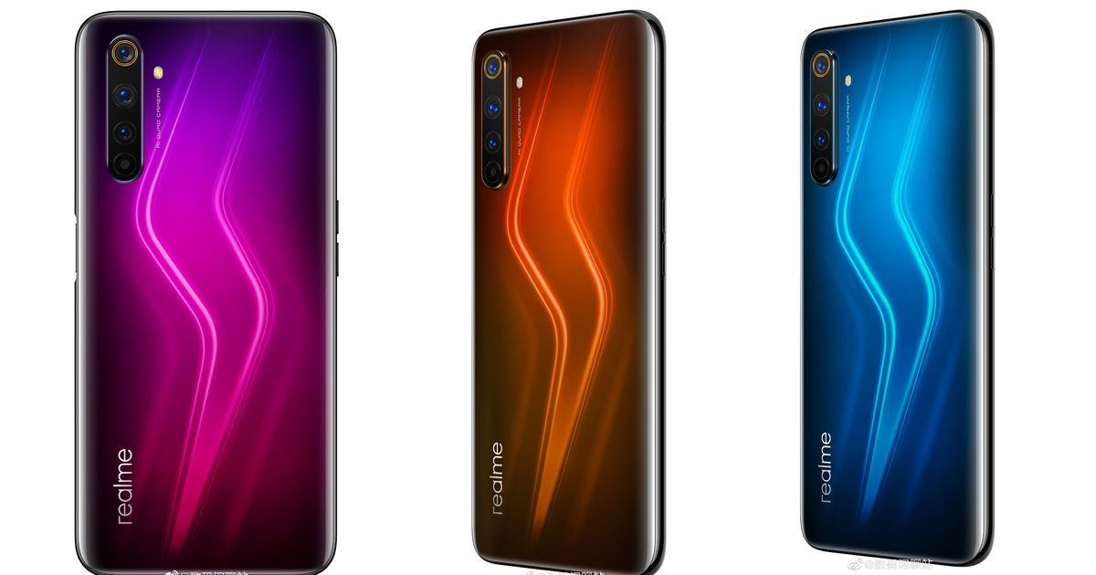 Realme 6 Pro to feature Snapdragon 720G; leaked renders reveal three gradient colour variants