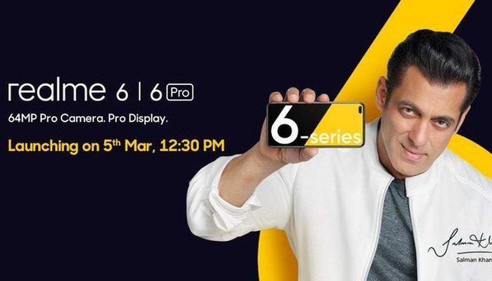 Realme 6, Reallme 6 Pro series March 6 launch date