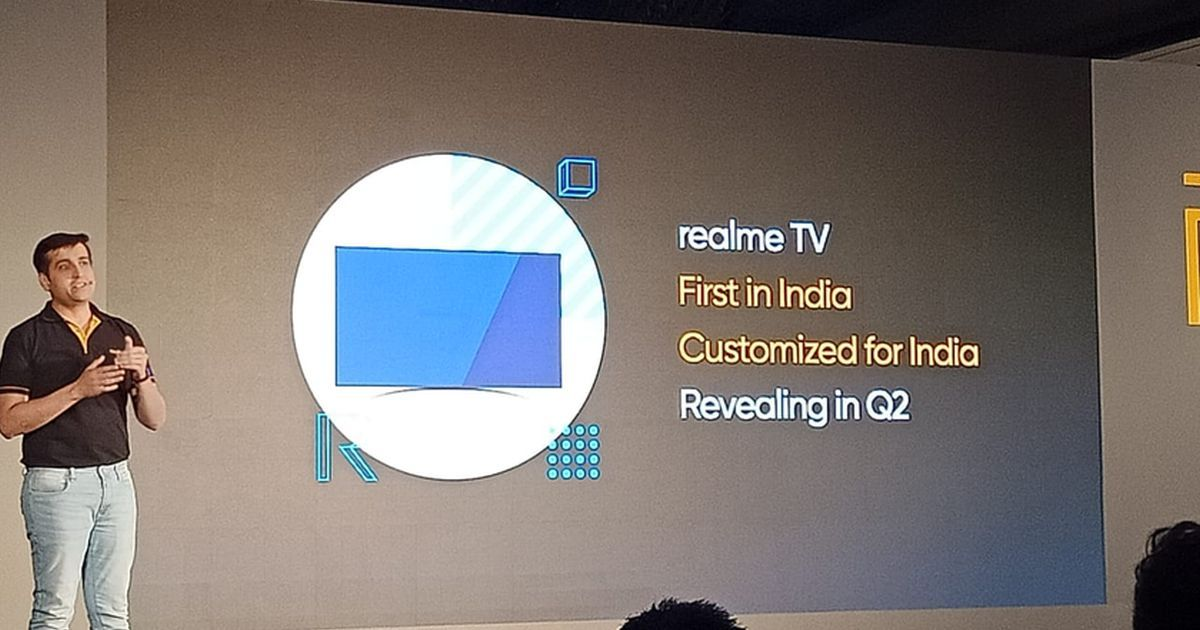 Realme fitness band to launch on March 5th, Realme TV to arrive in Q2