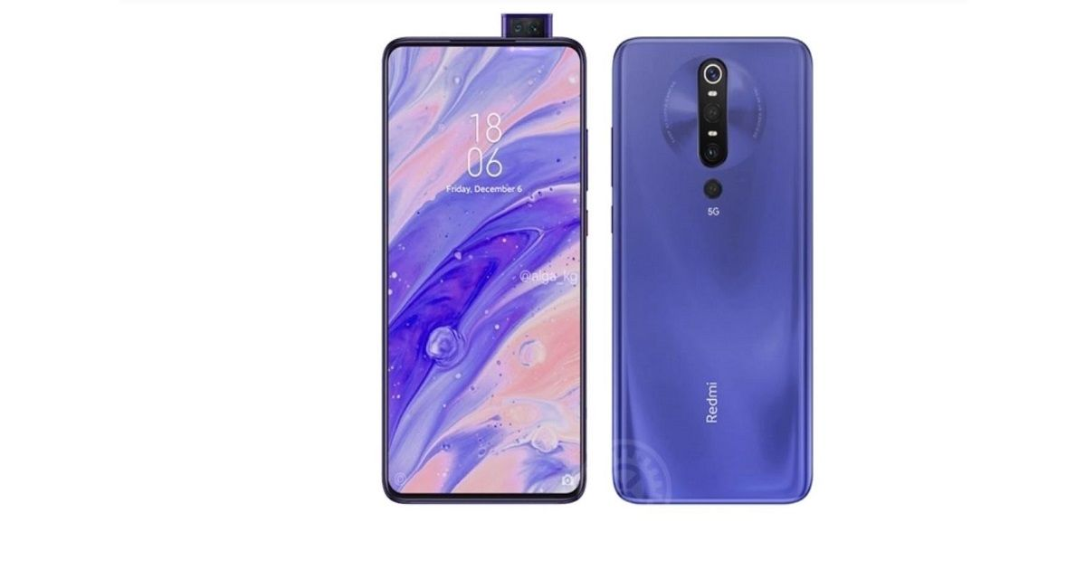 Redmi K30 Pro alleged renders reveal dual pop-up selfie cameras, 33W fast charging also tipped