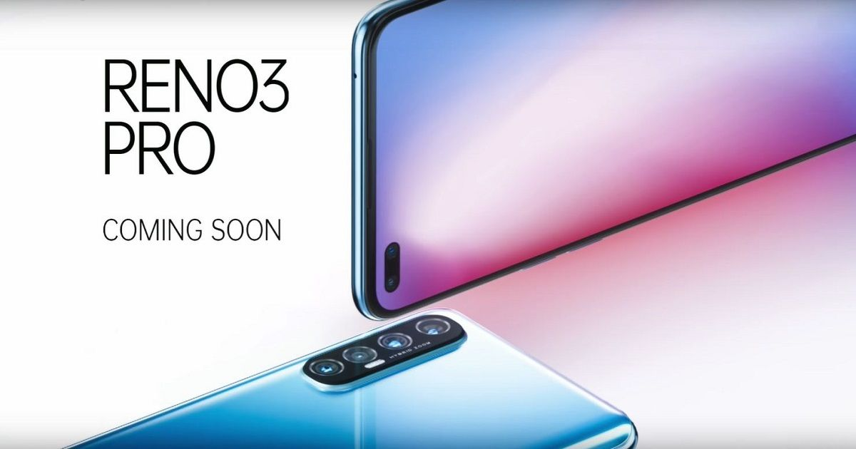 OPPO Reno 3 Pro launching in India on March 2nd, tipped to feature Helio P95 SoC