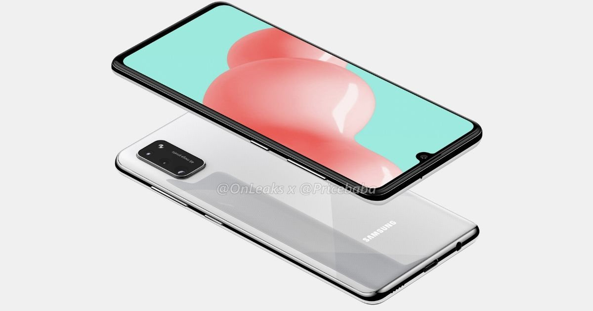 Exclusive: Samsung Galaxy A41 renders reveal waterdrop notch display and 48MP triple cameras