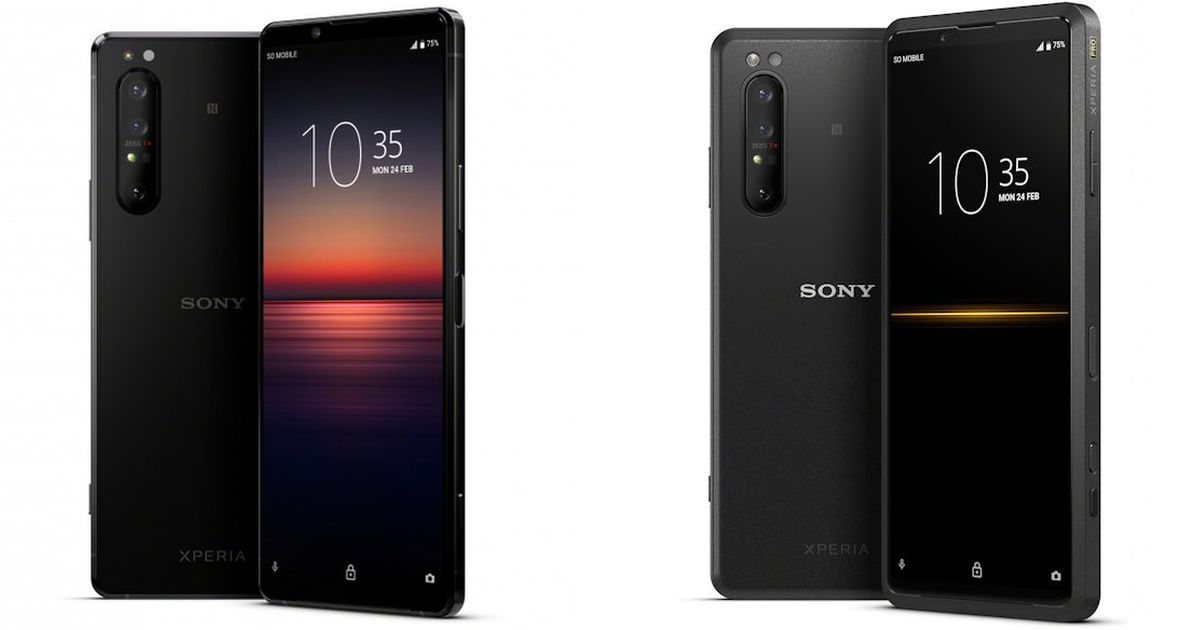 Sony Xperia 1 II, Xperia Pro and Xperia 10 II unveiled
