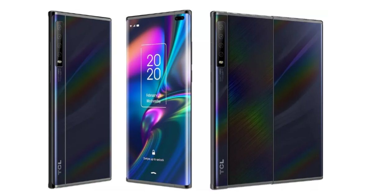 TCL is working on a phone with a slide-out display, leaked renders reveal
