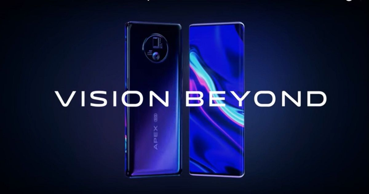 Vivo APEX 2020 with under-display camera and gimbal camera unveiled