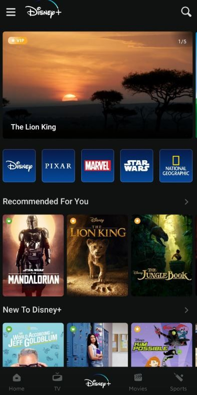 Disney+ Hotstar offers content from Disney, Pixar, Marvel, Star Wars franchise, National Geographic and more