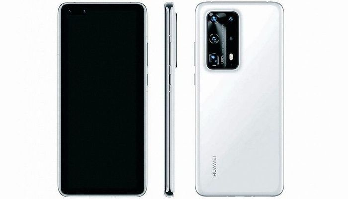Huawei P40 Pro PE South Korean listing-