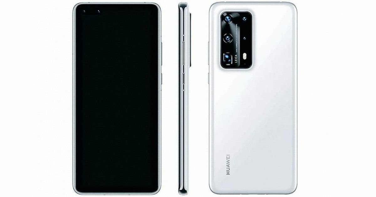 Huawei P40 Pro PE South Korean listing