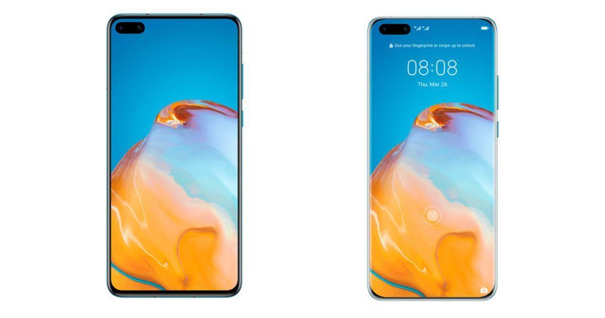 Huawei P40 Pro and Huawei P40