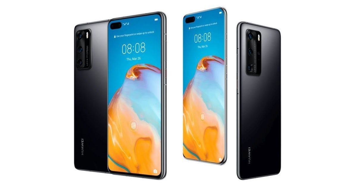 Huawei P40, P40 Pro and P40 Pro+ with Kirin 990 5G and 50MP cameras launched