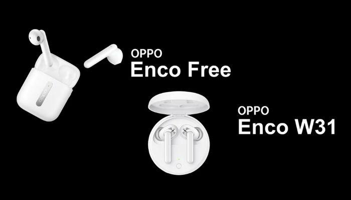 OPPO Enco Free and Enco W31 wireless headphones-
