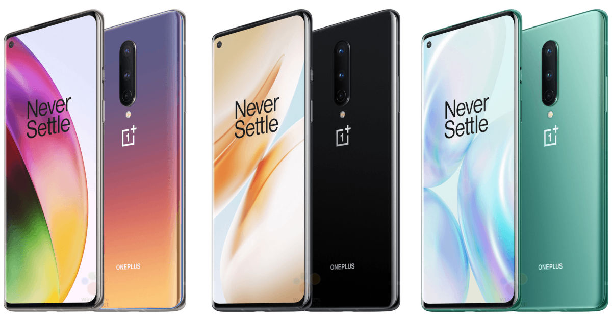 OnePlus 8 official renders leaked, reveal gorgeous new 'Interstellar Glow' colour variant