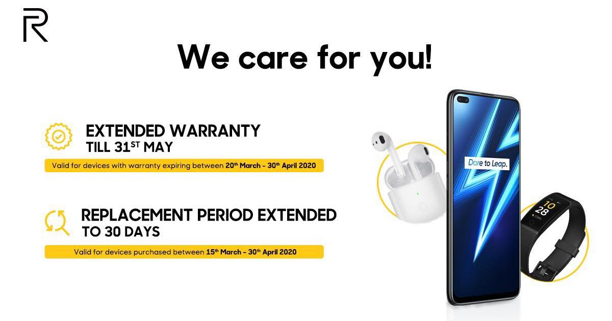 OnePlus, Realme, OPPO and Huawei extend product warranties due to coronavirus lockdown