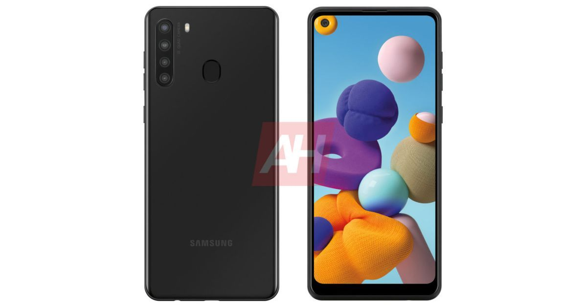 Samsung Galaxy A21 leaked render