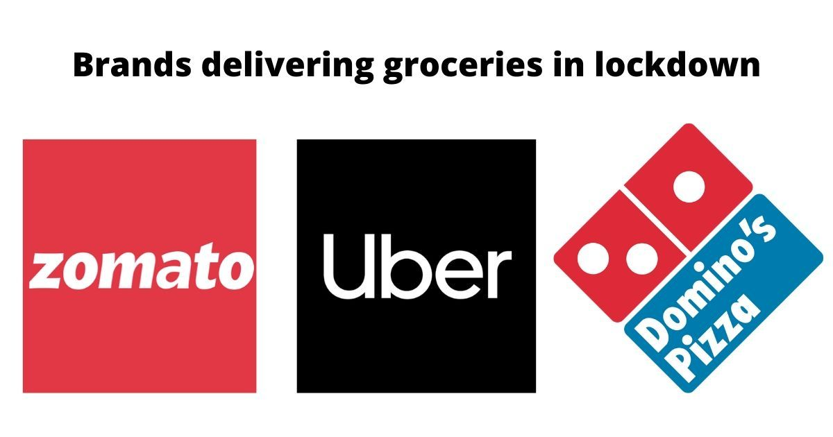 From Domino's to Uber, these are the companies helping to deliver essentials during the lockdown